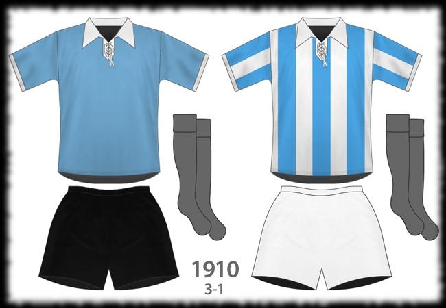 Selección Uruguaya de Fútbol 1910-primera-vez-celeste3